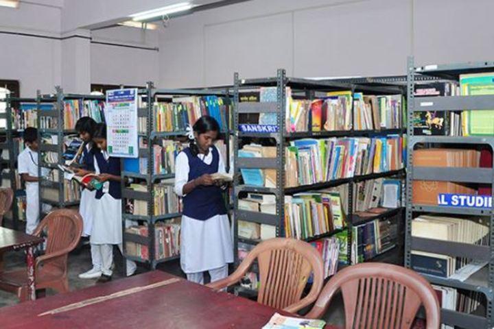 Bharatheeya Vidya Vihar-Library