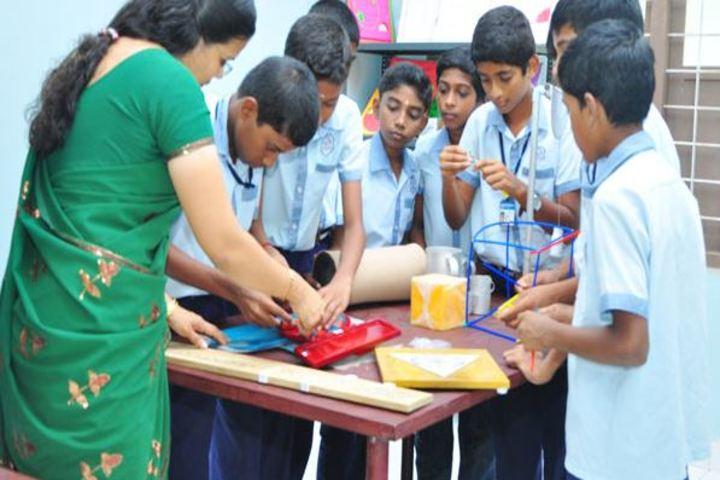Bharatheeya Vidya Vihar-Maths Lab