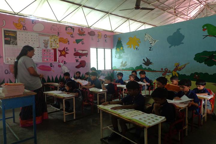 Bharathiya Vidhya Peedam School-Junior Wing Classroom