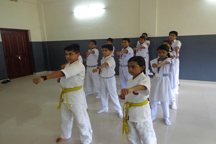 Bharathiya Vidhya Peedam School-Karate