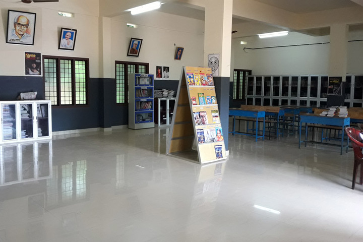 Bharathiya Vidhya Peedam School-Library