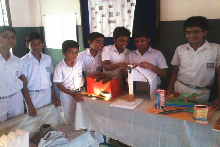 Bharathiya Vidhya Peedam School-Science Exhibition