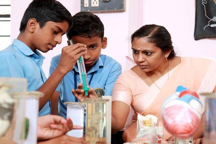 Bharathiya Vidya Bhavan Vikas Vidyalaya-Biology Lab
