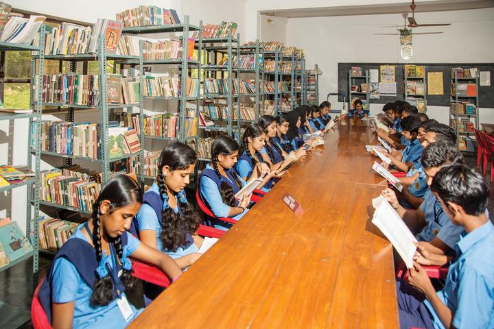 Bharatiya Vidya Bhavan-Library