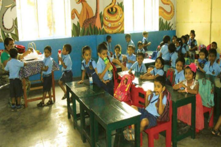 Bharatiya Vidya Bhavan Vidya Mandir-KG Classrooms