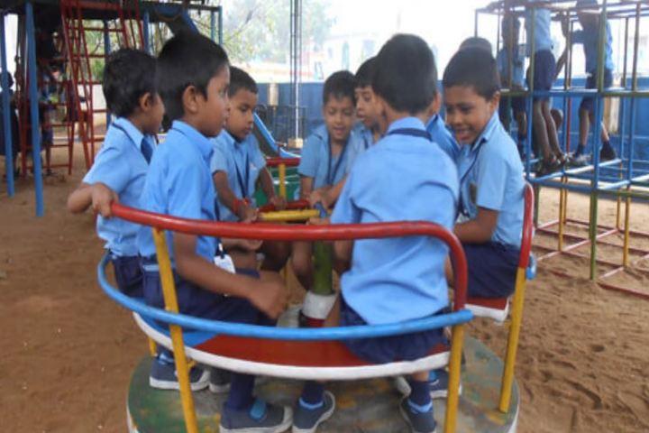 Bharatiya Vidya Bhavan Vidya Mandir-KG Play Area