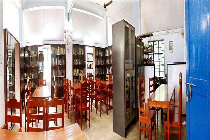 Bharatiya Vidya Bhavan Vidya Mandir-Library