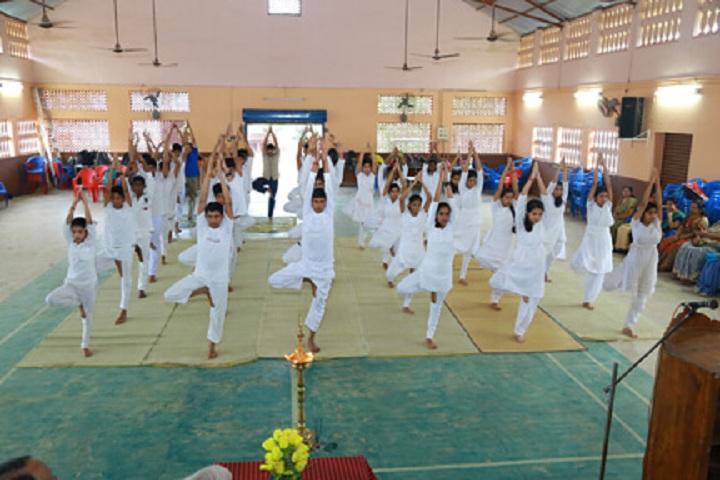 Bharatiya Vidya Bhavan Vidya Mandir-Yoga