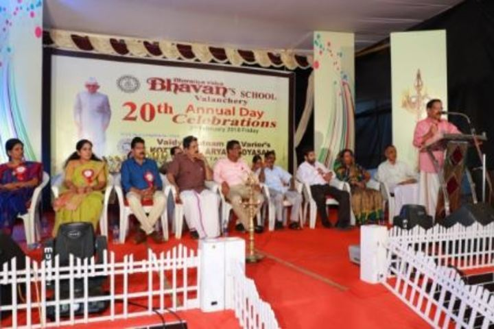 Bharatiya Vidya Bhavans School-Annual Day Speeches