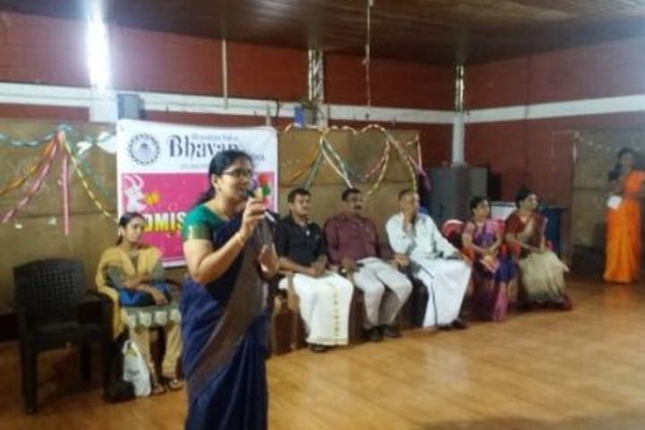 Bharatiya Vidya Bhavans School-Speeches