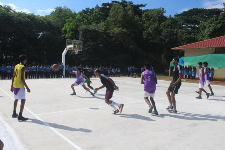 BhavanS Newsprint Vidyalaya-Basket Ball