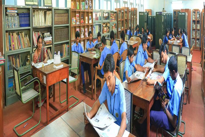 BhavanS Newsprint Vidyalaya-Library