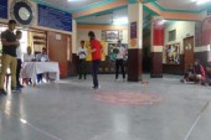 Kendriya Vidyalaya-Rope skipping