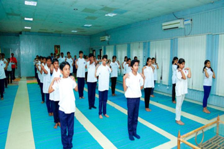 Bhavans Vidya Mandir-Yoga Room
