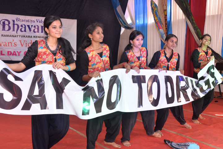 Bhavans Vidyashram Senior Secondary School-No To Drug Event