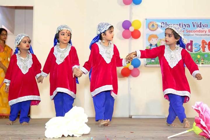 Bhavans Vivekananda Vidya Mandir-Dance
