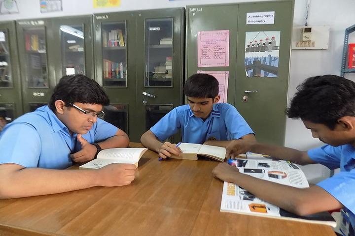 Bhavans Munshi Vidyashram-Library