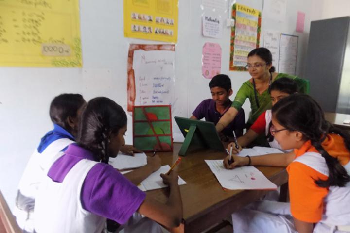 Bhavans Munshi Vidyashram-Maths Lab