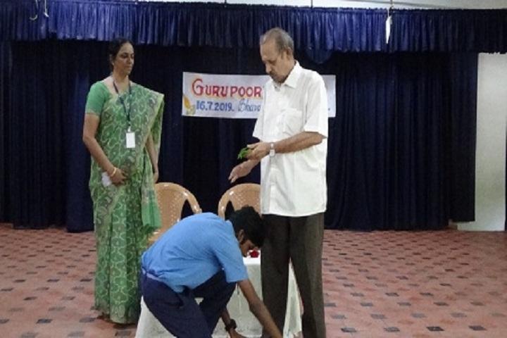 Bhavans Varuna Vidyalaya-Guru Pournami