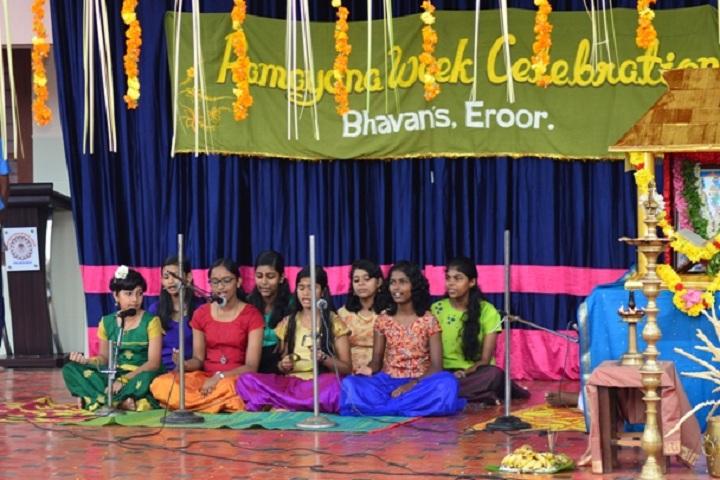 Bhavans Vidya Mandir-Ramayana Week Celebrations