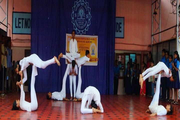 Bhavans Vidya Mandir-International Yoga Day
