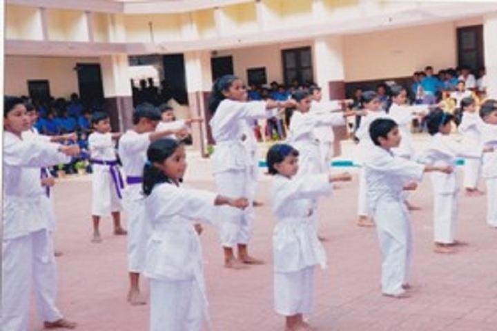 Bhavans Vidya Mandir-Karate