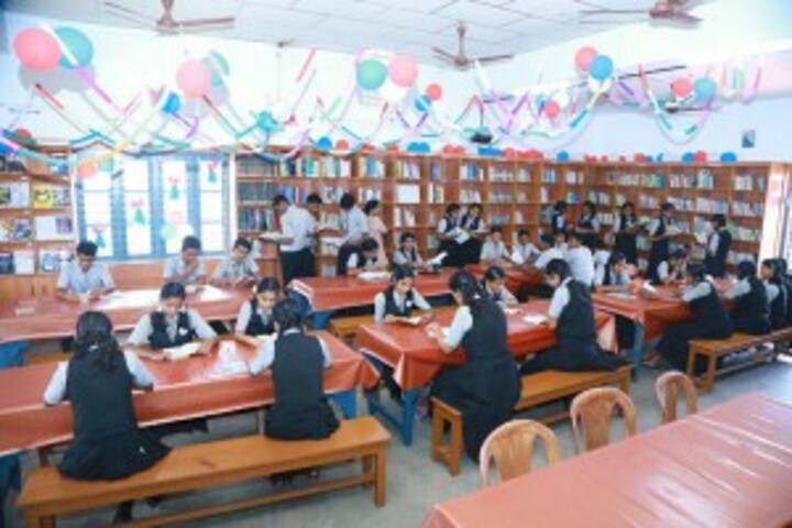 Bishop Kurialacherry Public School-Library