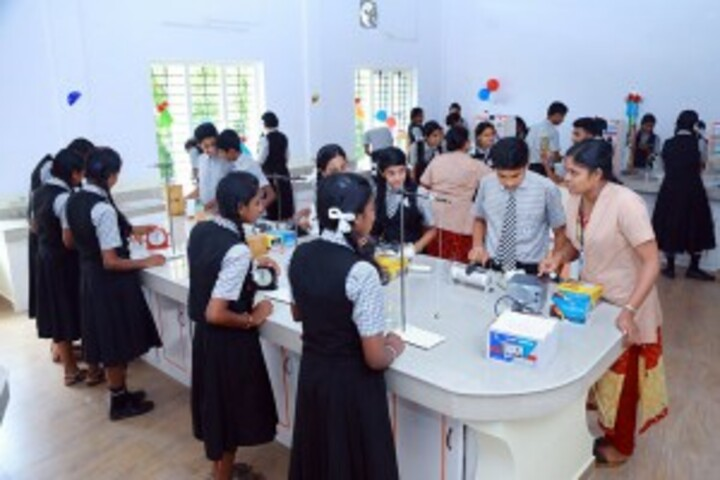 Bishop Kurialacherry Public School-Science Lab