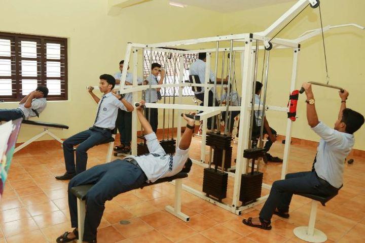 C K M N S S Senior Secondary School-Gym