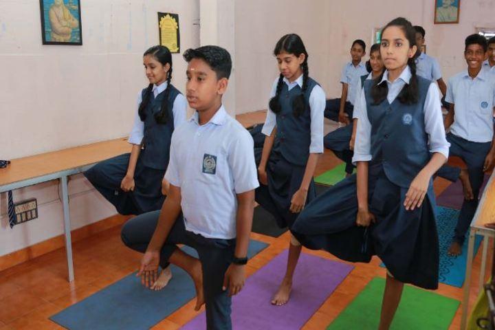 C K M N S S Senior Secondary School-Yoga