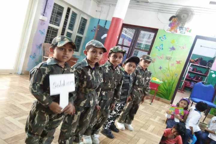 Canadian Central School-Fancy Dress Activity