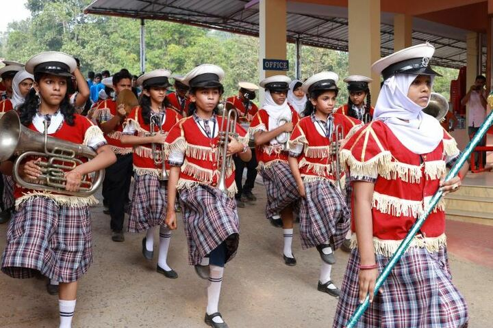 Cardinal Padiyara Public School-March Past