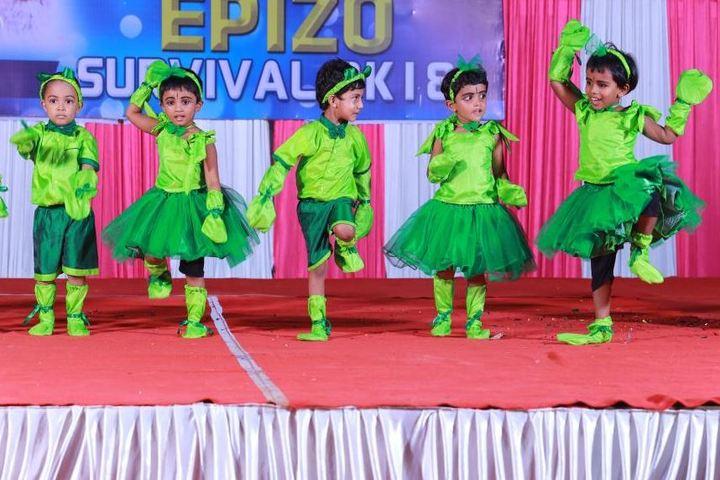 Cardinal Padiyara Public School-Kids Dance