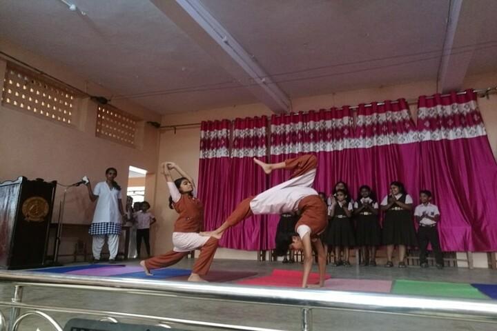 Carmel Central School-Yoga Day