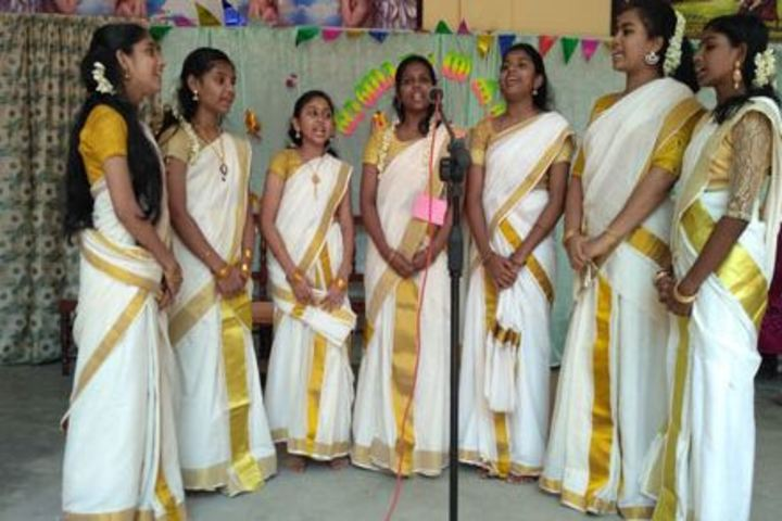 Carmel English Medium School-Singing