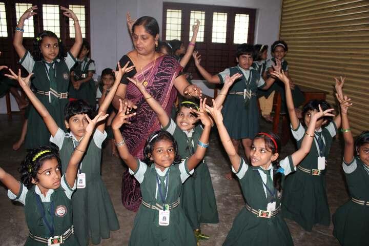 Carmel Public School-Dancing Activity