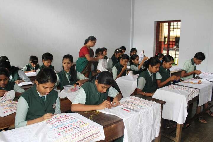 Carmel Public School-Embroidery Activity