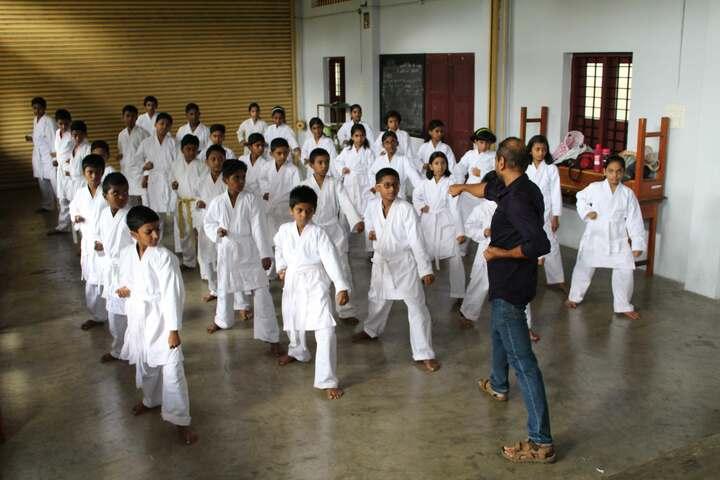 Carmel Public School-Karate Activity
