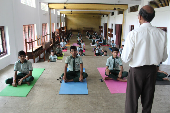 Carmel Public School-Yoga Activity