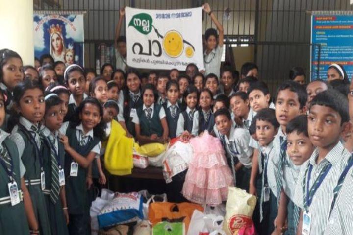 Carmel Rani Public School-Social Service
