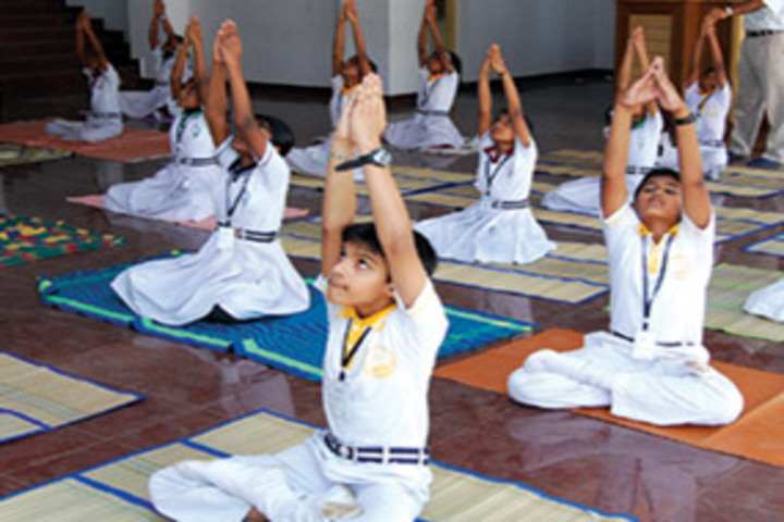 Chavara Darshan Cmi Public School-Yoga Activity