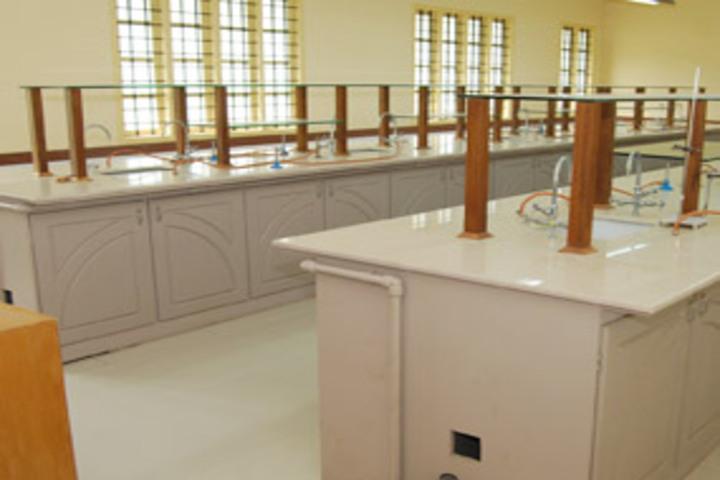 Chavara Darshan CMI Public School-Chemistry Laboratory