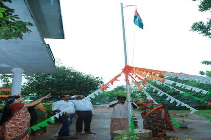 Chelakkara Central School-Flag Hoisting