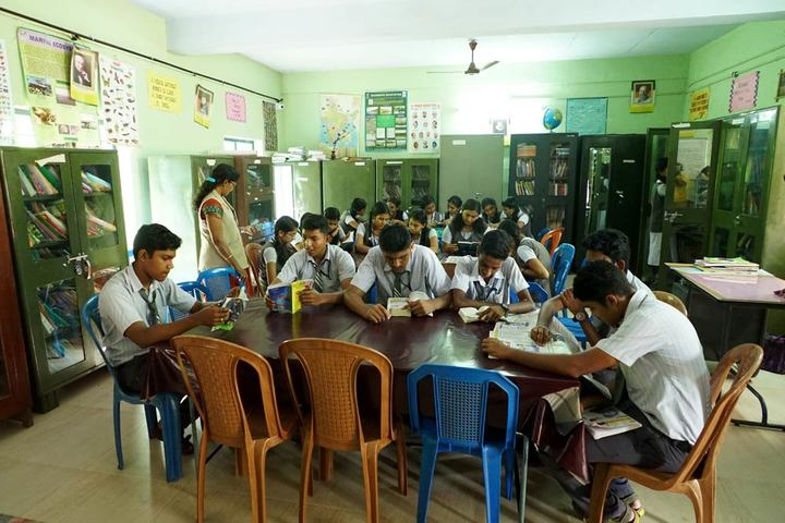 Cherupushpa Bethany School-Library