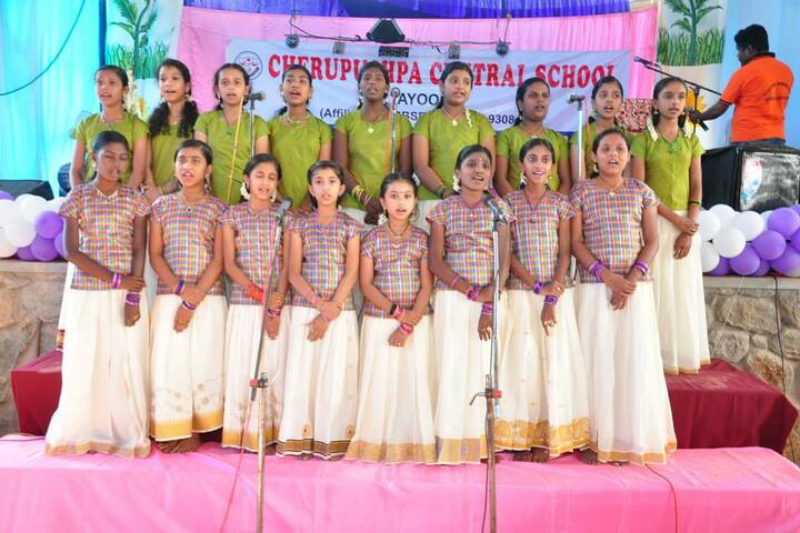 Cherupushpa Central School-Singing Competition