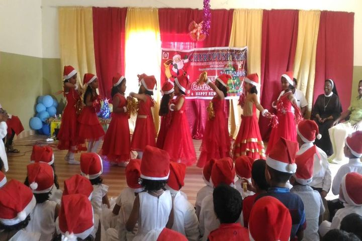 Cherupushpam English Medium School-Christmas Celebrations