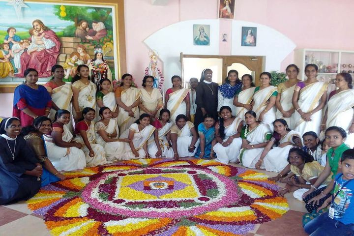 Cherupushpam English Medium School-Onam Celebrations