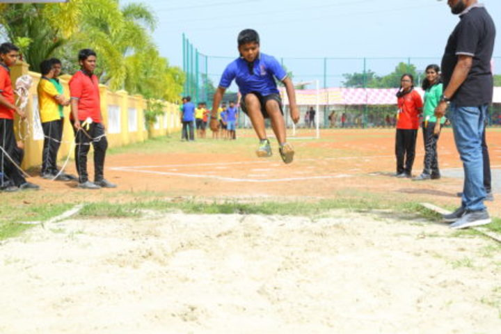 Chinmaya Vidyalaya-Annual Sports Meet