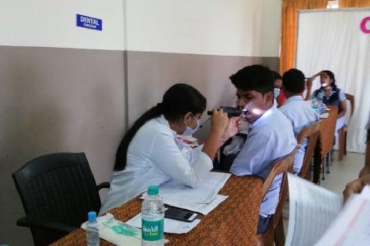 Chinmaya Vidyalaya-Medical Check up