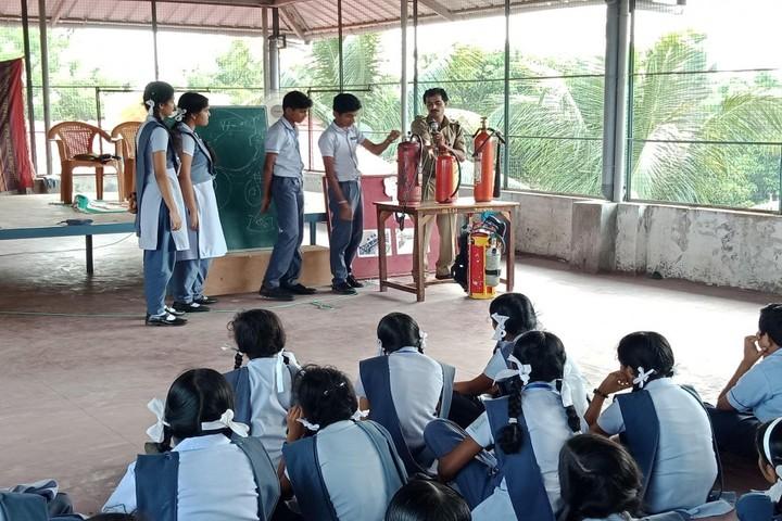 Chinmaya Vidyalaya-Fire And Safety Session